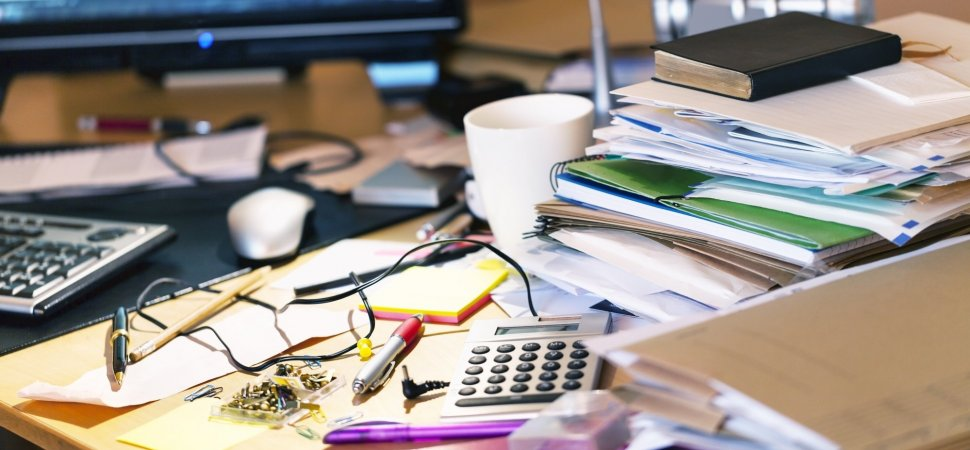 Why you should be keeping a tidy desk name